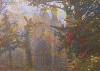 Nebel-Ruine