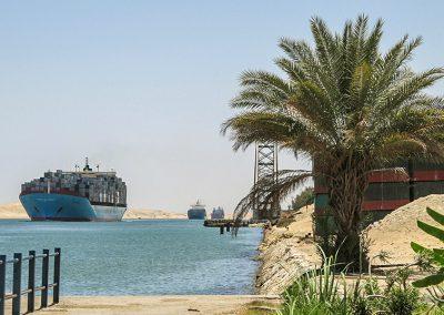 Suezkanal bei Ismailia